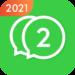 2Face: 2 Accounts for 2 whatsapp, dual apps APK