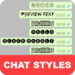 Chat Styles: Cool Font & Stylish Text for WhatsApp APK
