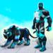 Flying Panther Robot Hero: Robot Black Hero Games APK