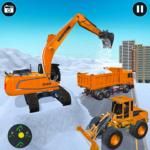Heavy Excavator & Dozer Simulator · Snow JCB Game APK