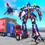 Indian Police Robot Transform Truck APK