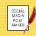 Social Media Post Maker, Thumbnail & Cover Maker APK
