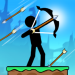 The Archers 2: Stickman Games for 2 Players or 1 APK
