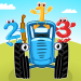 The Blue Tractor: Fun Learning Games for Toddlers APK
