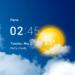 Transparent clock and weather – forecast and radar APK