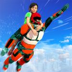 US Light Robot  Speed Hero :City Rescue Mission APK
