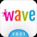 Wave Keyboard Background – Animations, Emojis, GIF APK